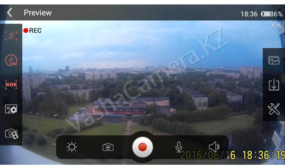 камера dv135
